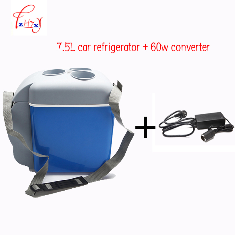 Mini Car Refrigerator Multi-Function Car Auto Mini Fridge Portable 12 V 7.5L Travel Refrigerator ABS Freezer Home Refrigerator