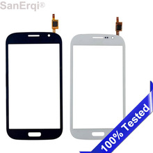 SanErqi 10pcs Touch Screen For Samsung Galaxy Grand Duos GT i9082 i9080 Neo i9060 Plus i9060i i9062 Glass Digitizer gt-i9082 top quality lcd display panel screen for samsung galaxy grand duos i9080 i9082 replacement repair parts free shipping