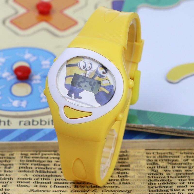 FD 2018 Patrón de dibujos animados de moda Niñas Niños Reloj - Relojes para niños - foto 2
