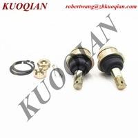KUOQIAN 2PCS 1PAIR Ball Pin E Steering Knuckle Arm FOR HISUN HS400 ATV 700 UTV PARTS