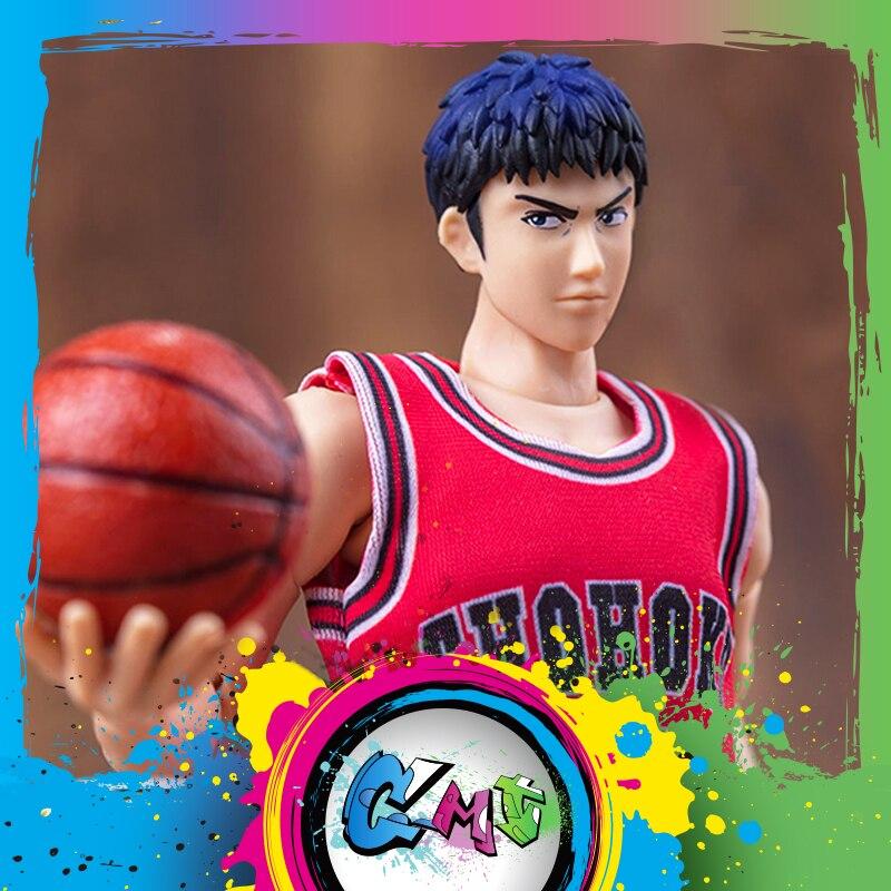 CMT Instock Dasin Model Slam Dunk Basketball #14 Mitsui Hisashi S.H.Figures S.H.F Action Figure Anime PVC Toys Figure