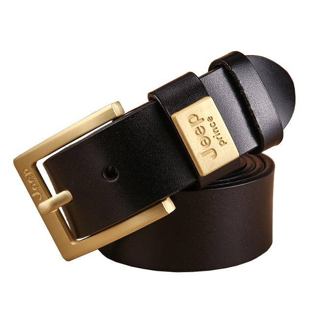 2017 Cinturones de Diseñador Hombres de Alta Calidad Correa de Cuero Genuina del Hombre de Lujo de Estilo Vaquero Hebilla Casual de Negocios Clásico Jeans Cinto