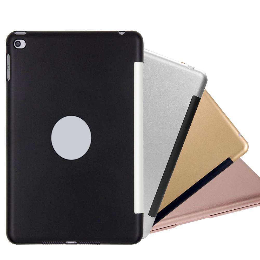 Mini Wireless Bluetooth 3.0 Keyboard Portable Tablet Keyboard Smart Folio Case For iPad mini 4