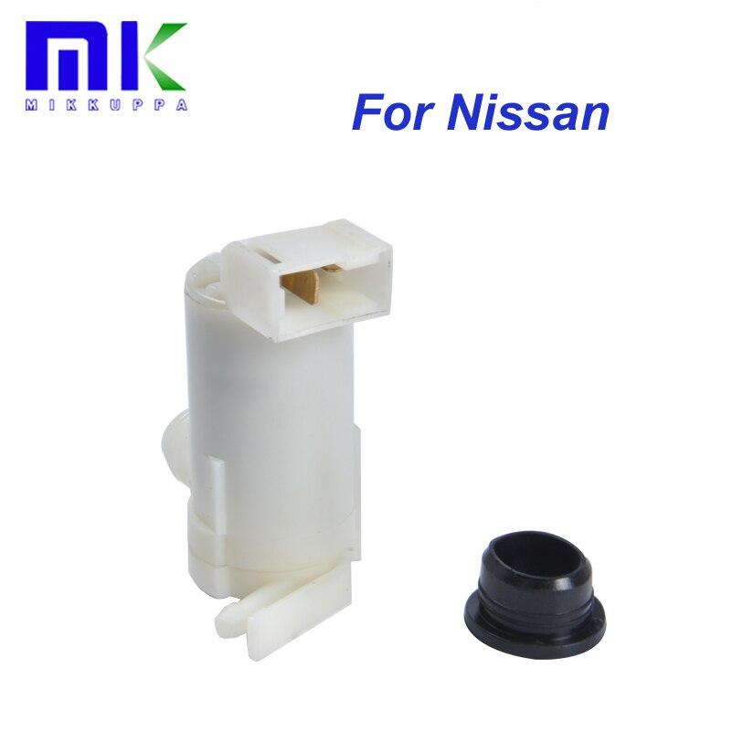 Pompe de lave-glace Pour Nissan PULSAR/ENSOLEILLÉ/PRIMERA/NX/SERENA/ALMERA/PATROUILLE/MAXIMA Pare-Brise pare-brise Essuie-glace propre Windows 28920-50Y00