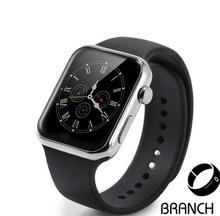 2016บุรุษนาฬิกาข้อมือa9 smart watch android mtk2502aที่มีการตรวจสอบอัตราการเต้นหัวใจsmart watchสำหรับiphone a ndroid r eloj inteligente