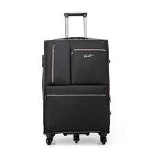 Reise-einfach Männer Kommerziellen Reisegepäck Trolley gepäck Hochwertigen 20 Zoll Reise-koffer-universal-speichen Oxford Wasserdichte