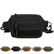High Quality Men Nylon Small Shoulder Assault Messenger Crossbody Bag Molle Military Fanny Hip Bum Belt Clutch Waist Pack Bags
