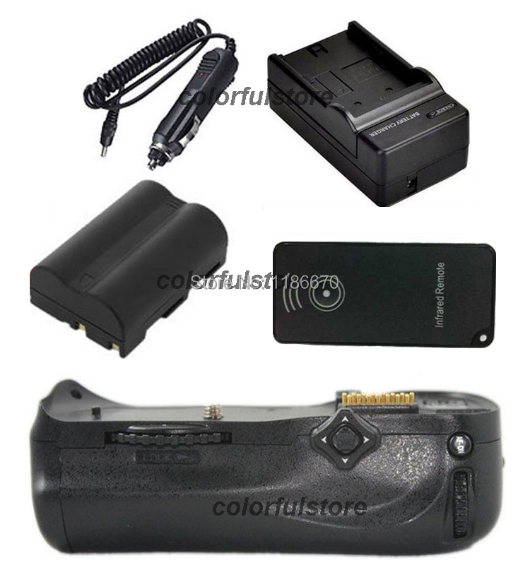 New Battery Handle Grip Vertical Shutter For Nikon D300 D300S D700 DSLR Camera as MB-D10 MBD10+1 x EN-EL3e+IR Remote+Car Charger new arrival battery handle hand grip pack holder vertical power shutter for nikon d750 camera as mb d16 2 x en el15 car charger