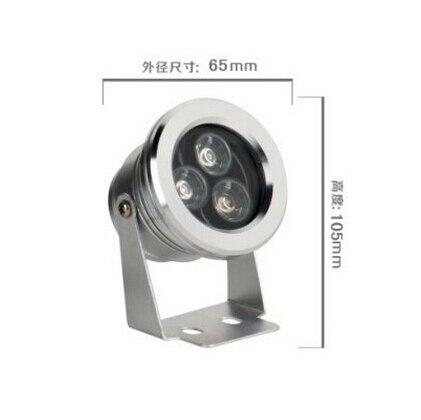 30pcs/lot 3*3W LED Underwater Lights Swimming Pool Lamp Emitting color Green Waterproof IP68 Fountain bulbs 3 lot
