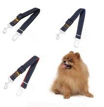 10 unids/lote Buena Calidad Nueva Correa para perros perro Vehículo Arnés Del Cinturón de seguridad Del Coche Clip de Plomo Mascota Gato Perro seguridad