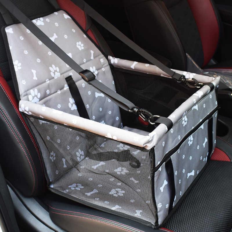 Оксфордская Автомобильная переноска для домашних животных, для собак, кошек, подушка для сиденья, складная коробка для ящиков, сумки для переноски домашних животных, товары для перевозки щенков