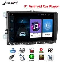 Jansite 9 Car Radio Android 8.1 GPS Navigation for VW Volkswagen SKODA GOLF 5 6 POLO PASSAT B5 B6 JETTA TIGUAN player BT RDS palaces of saint petersburg