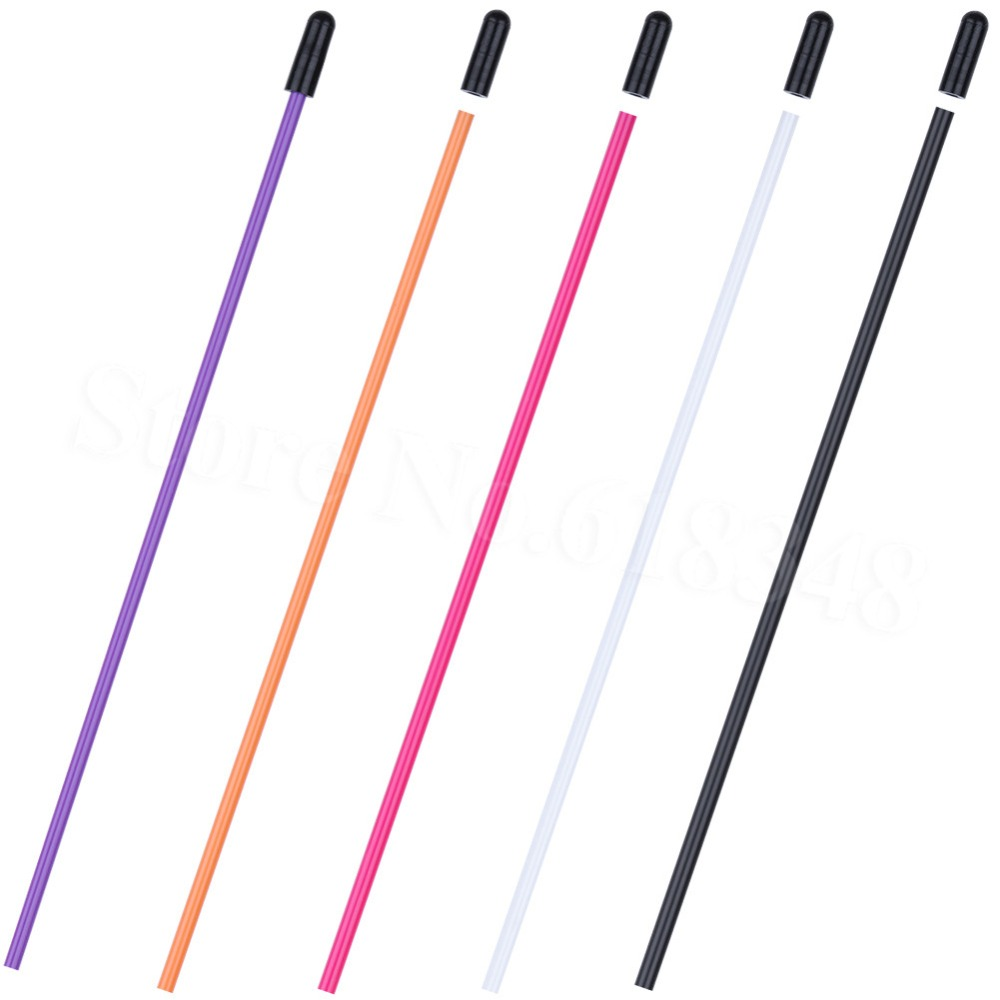 5pcs Plastic Antenna Tube With Cap Black Multicolor For RC Remote Control Car Boats