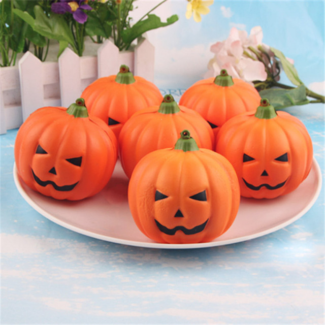 Halloween Artificial Pumpkin Simulation Fake Lifelike Props Garden Home Decoration Stylish Creative Artificial Fruits A75