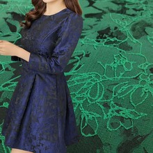1Yard 91*150cm,2017 High Quality Rose Jacquard Brocade Fabric,Brand Tissue Fabric for Dress,Sewing Diy Patchwork Material Tecido