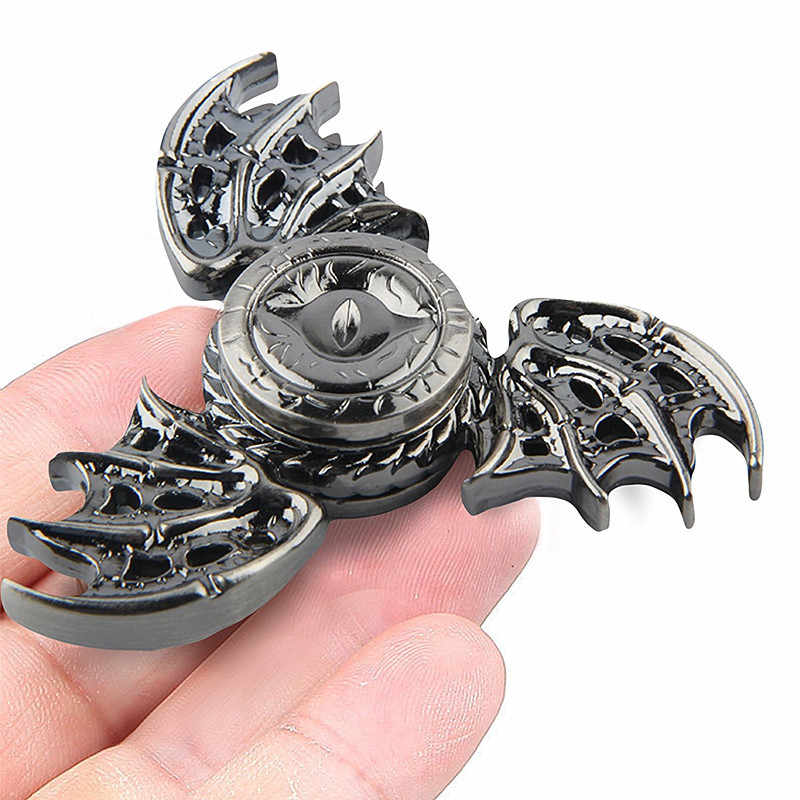 Game of Thrones Fidget Spinner Spinner Spinner de Metal Mão Dedo Do Olho Do Dragão Anti Stress Tri Spiner Brinquedos para o Autismo e TDAH R188