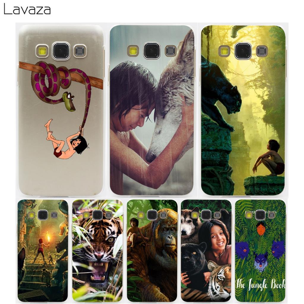 Lavaza The Jungle Book Mowglis Story Hard Transparent Case for Samsung Galaxy S3 S4 S5 & Mini S6 S7 S8 S9 Edge Plus