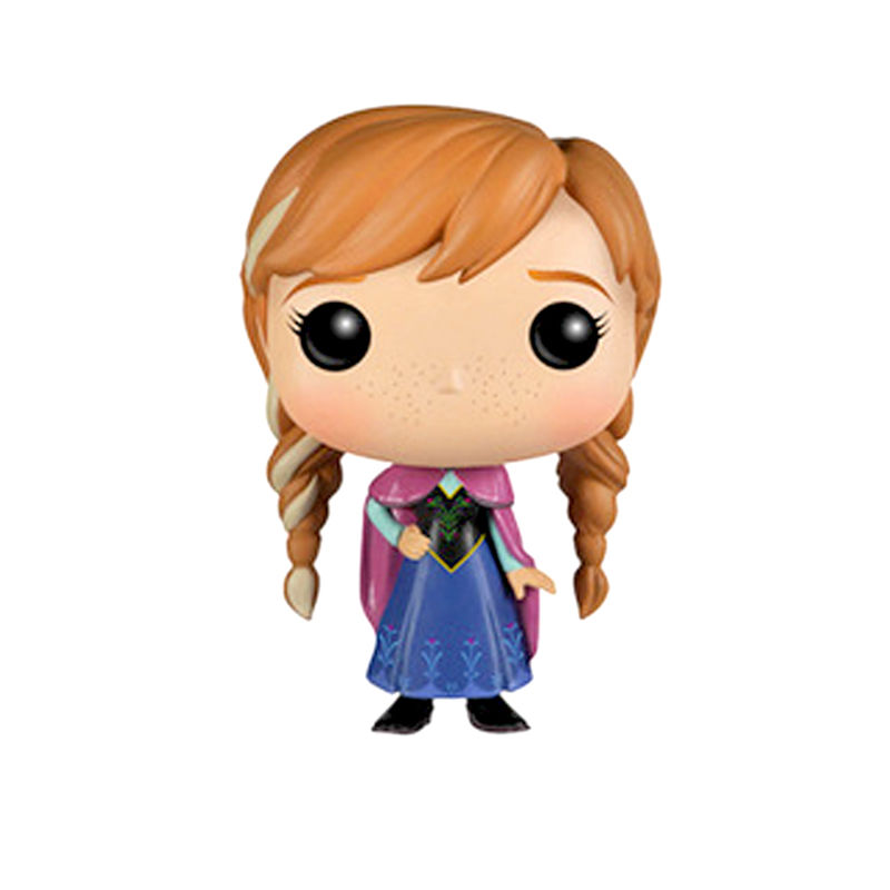 FUNKO-POP-10cm-Cute-Elsa-Anna-Princess-anime-Action-Figure-Collection-PVC-Model-Gifts-Toys_