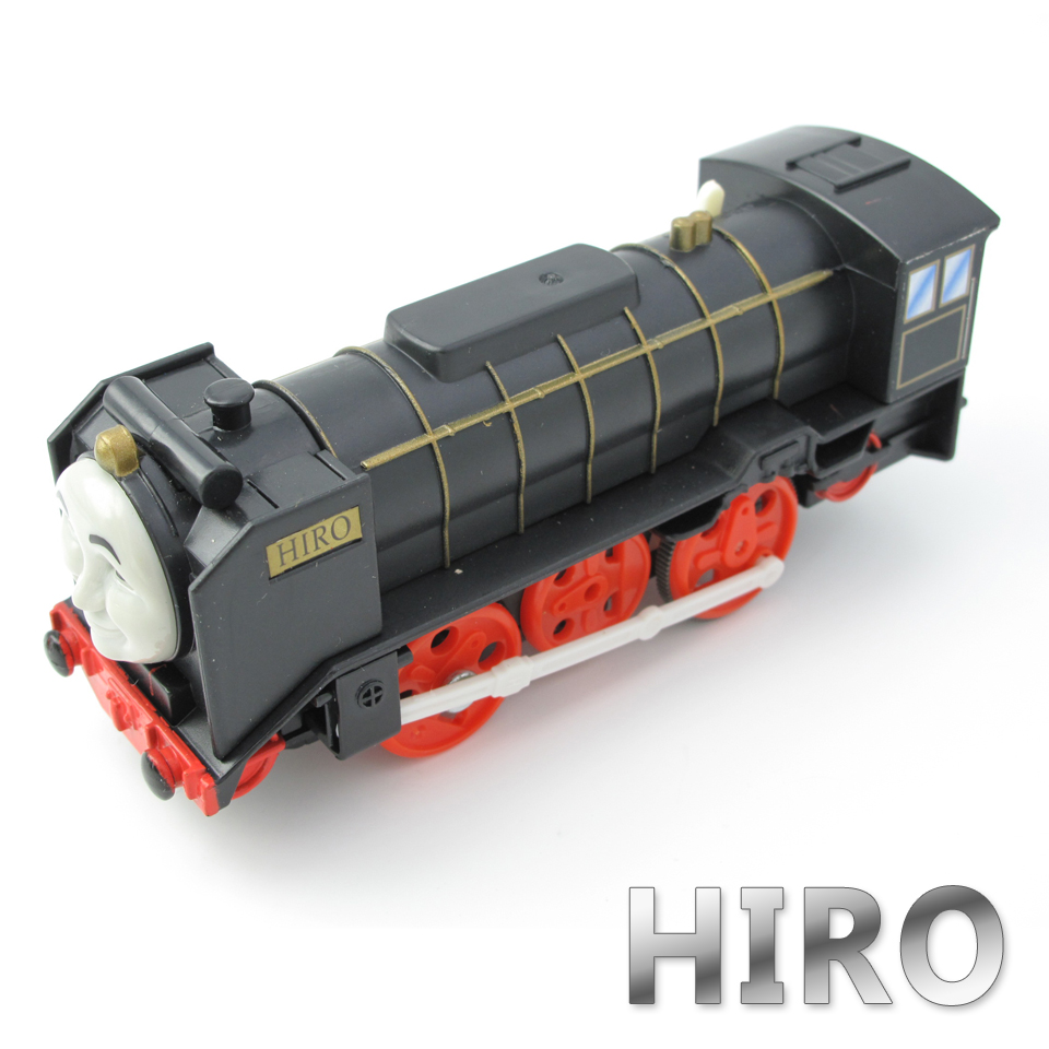 Electric Thomas Train T070E HIRO Thomas And Friends Trackmaster Magnetic Tomas Truck Car Locomotive Engine Railway Toys for Boys