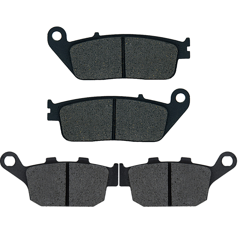 For Honda NTV 650 J/K/L/M/P/S/T/V 1988 1989 1990 1991 1992 1993 1994 1995 1996 1997 NTV650 Motorcycle Brake Pads Front Rear