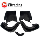 VR RACING - 1Set Mud Flaps Flap plash Guard Mudguard For Honda Civic 2dr Coupe 2009-2011 Front And Rear Exterior Parts VR-MGF04