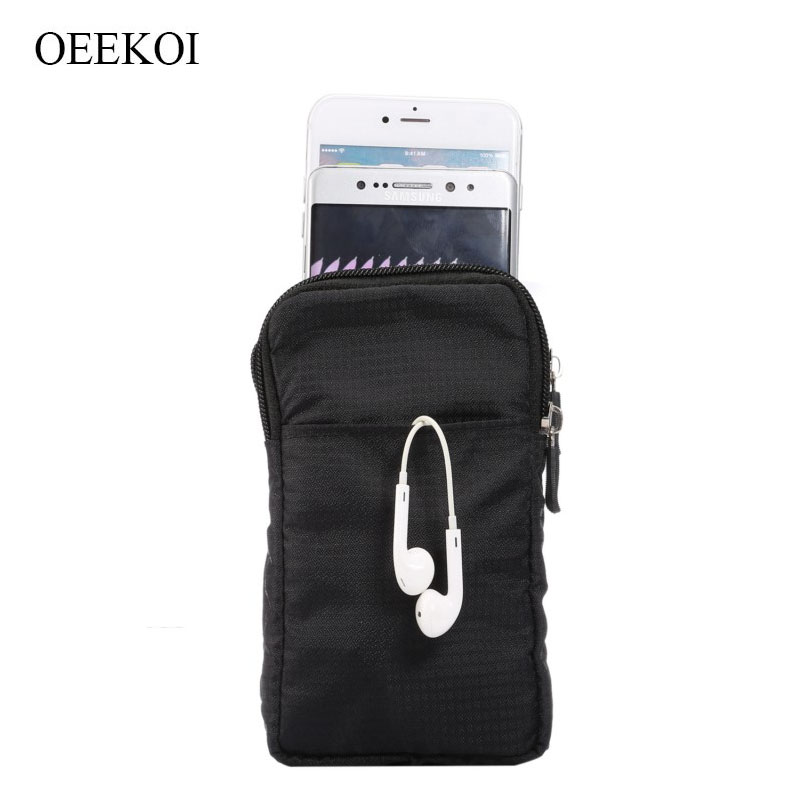 OEEKOI Multi-Function Belt Clip Sport Bag Pouch Case for <font><b>DNS</b></font> S4701/S4501M/S5009/S5002/<font><b>S5008</b></font>/S5004/S5001/S5003/S5005/S5701/S5301Q image