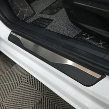 For Mazda 6 2014 2016 2017 Door Sill Scuff Plate Welcome Pedal Stainless Steel Car Styling Car Accessories