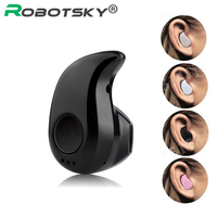Mini Bluetooth Wireless Earphone in Ear Sports Headphone Stereo Headset Earpiece with Mic Handsfree For iPhone Samsung Xiaomi