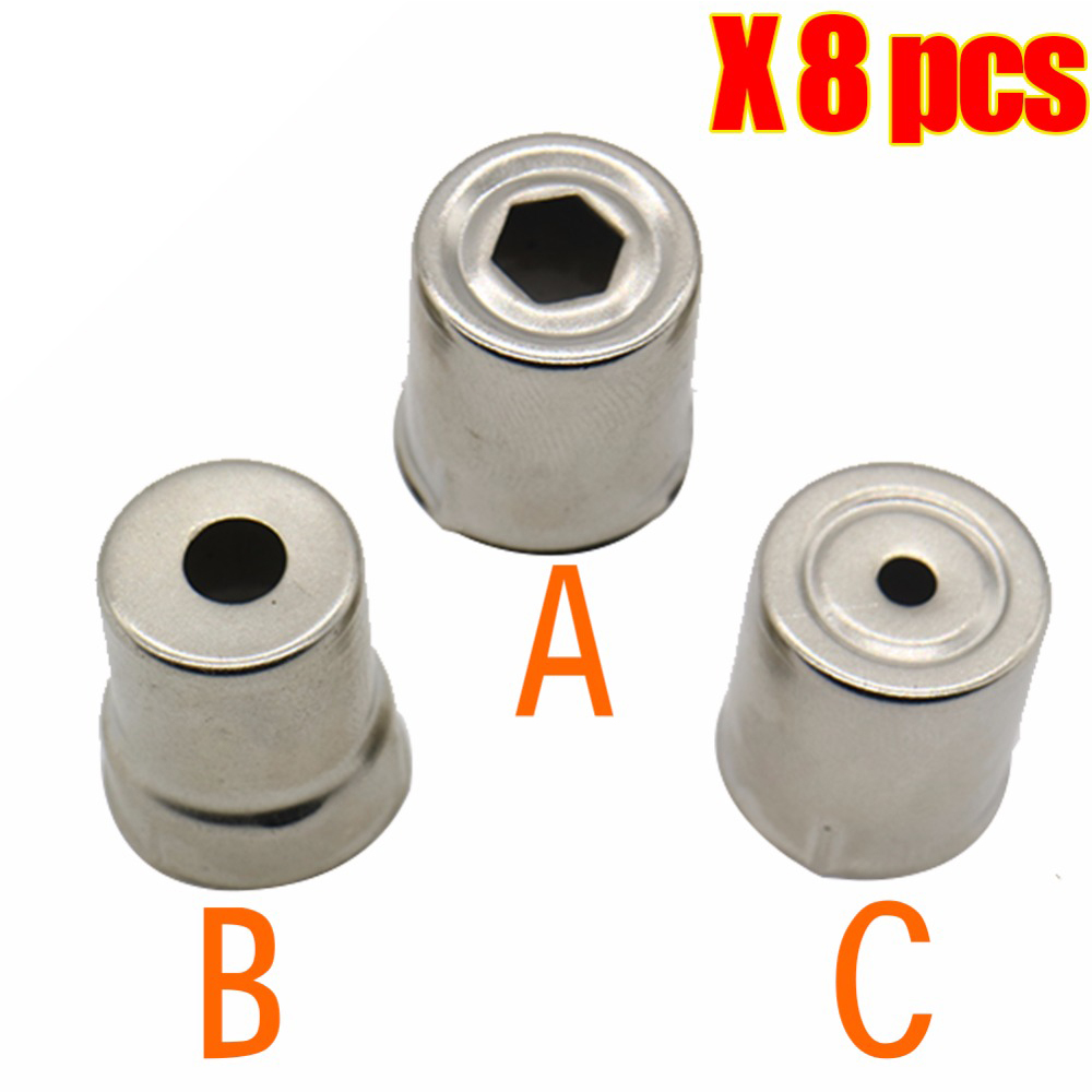 8PCS/lot 2017 High quality Microwave Oven Parts Magnetron Cap Replacement Microwave Oven Spare Parts Magnetron for Microwave