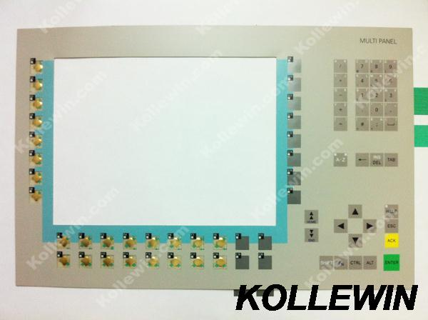 New membrane keypad for MP370 12 COLOR TFT DISPLAY 6AV6542-0DA10-0AX0 6AV6 542-0DA10-0AX0 6AV65420DA100AX0 freeship new 12 inch touch screen glass for sms mp370 mp370 12 6av6 545 0da10 0ax0 lcd touch hmi panel glass