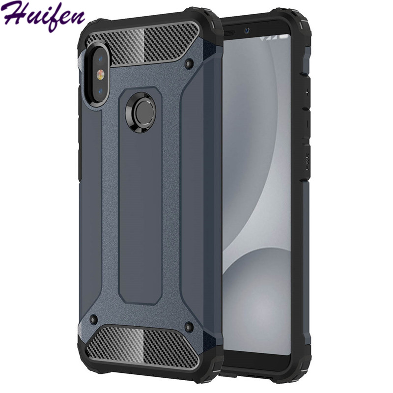 For Xiaomi Redmi Note 5 Pro Case Note5 Pro Hard Rugged Hybrid Armor Capa Protective Slim Back Cover For Redmi Note 5 (XX1221)