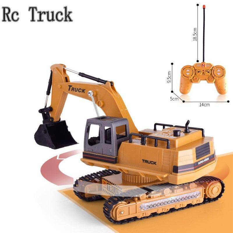 8 canal 1/14 RC Pelle Excavat Camion Jouet Supprimer Le Contrôle Construction Véhicule Garçon Cadeau RC Génie Voiture Tracteur Brinquedos