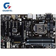 עבור אינטל B85 DDR3 100% מקורי Gigabyte GA B85 HD3 A LGA 1150 האם 32G B85 HD3 A שולחן העבודה Mainboard SATA 3 USB3 בשימוש