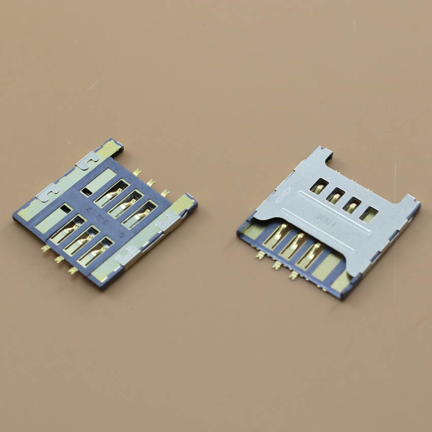 YuXi sim card socket for samsung I917 I919U I719 I929 N7102 n719 i9250 tray slot connector