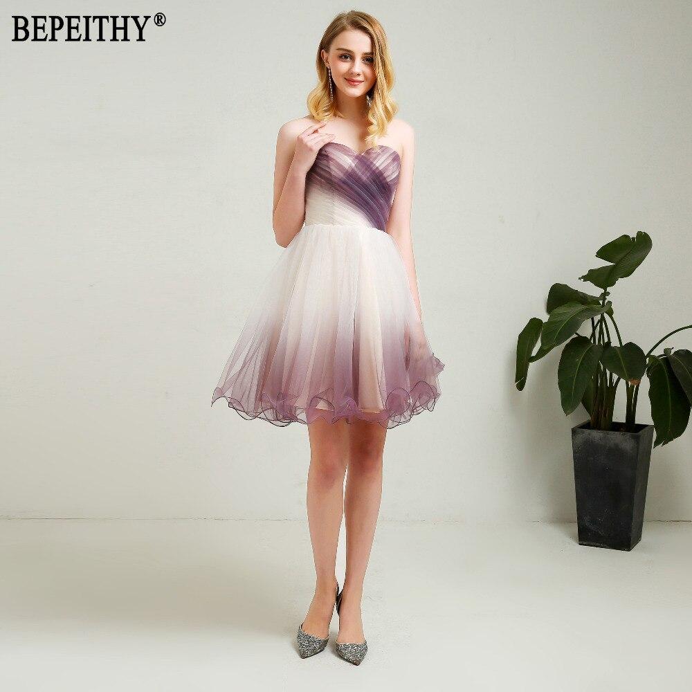 BEPEITHY Nieuw ontwerp Vestido De Festa Longo Sweetheart Plooien - Jurken voor bijzondere gelegenheden - Foto 3