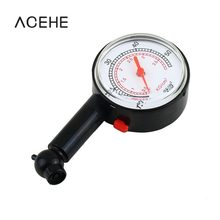 Motor Car Bike Mini Tyre Tire Gauge Dial Meter Pressure Vehicle Tester Auto Motorcycle Diagnostic Tools Measurement Dropshipping(China)