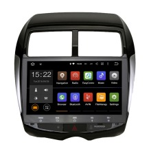 2 Din car gps navigation android 5.1.1 stereo for Mitsubishi ASX 10-12 PEUGEOT 4008 2DIN RAOID screen GPS Radio recorder