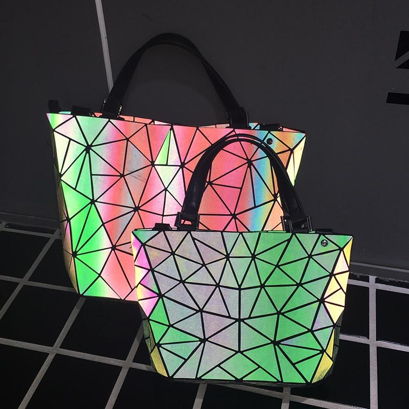 ombro sacolas de laser simples Exterior : Nenhum