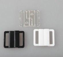 312ef6428 Frete grátis 60 jogos lote plástico sutiã fivelas fechamento frontal  swimwear clipe biquíni fecho 20mm 3 cor