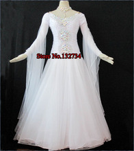 ballroom dancing dress ballgown New High-end Ballroom Standard Dance Competition Dress B-0546