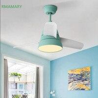 Nordic LED light ceiling fan lamp modern minimalist fashion living room bedroom dining room remote control LED ceiling fan light
