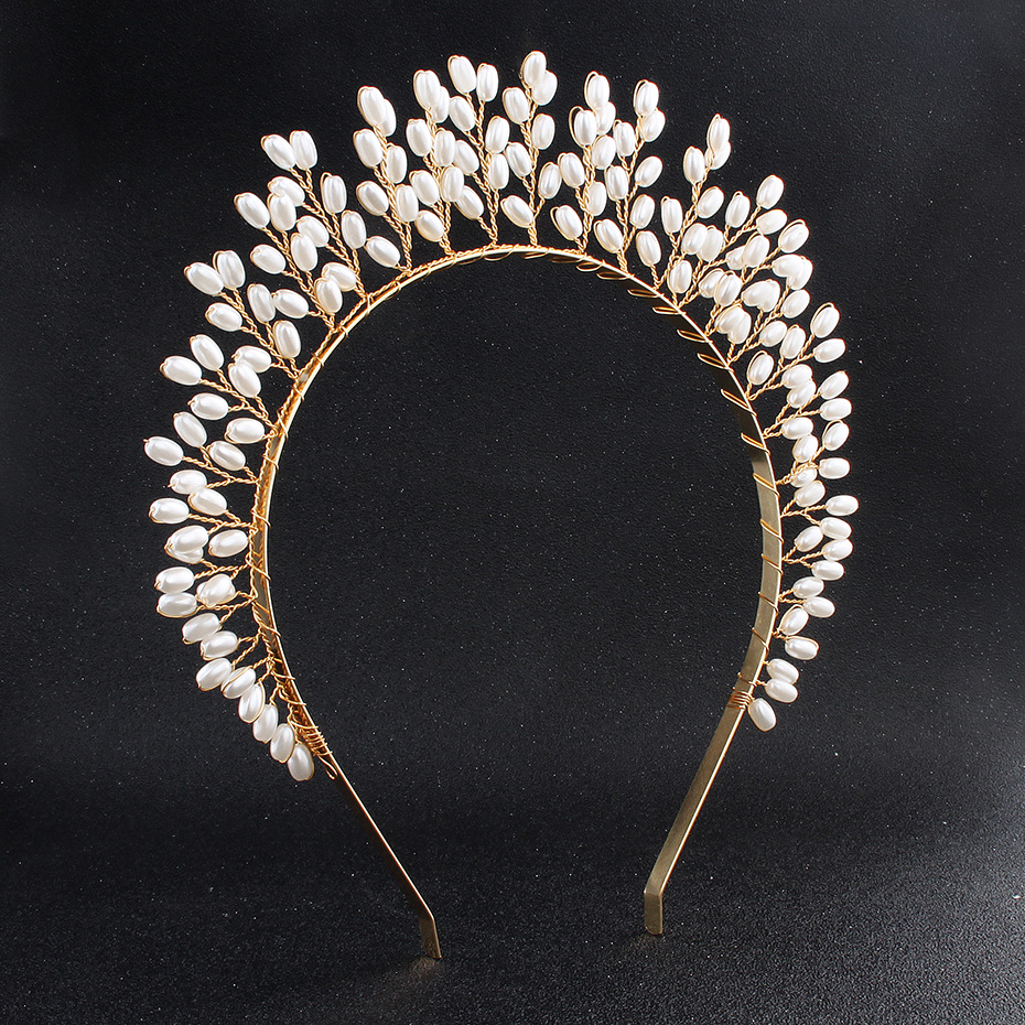 Whimsical Queen Crown Woodland Hair Jewelry Vintage Babies
