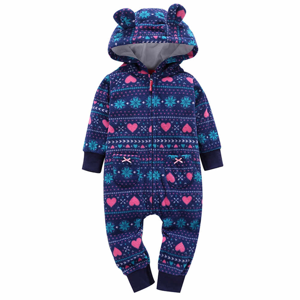 9901fcaa0b23 ... 2018 новые детские комбинезоны с принтом зимние толстые теплые носки  для маленьких мальчиков Одежда для девочек ...