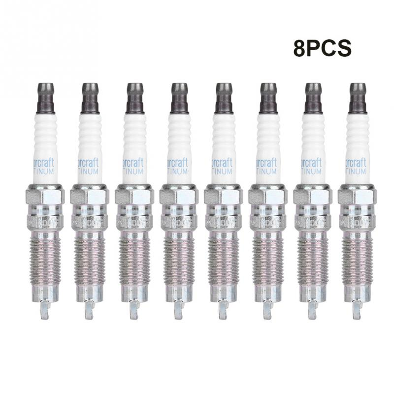 Double Platinum Spark Plugs For Motorcraft SP 509 For FORD