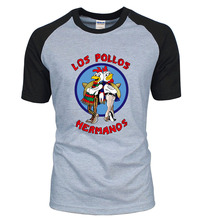 Breaking Bad  LOS POLLOS Hermanos T Shirt Chicken Brothers
