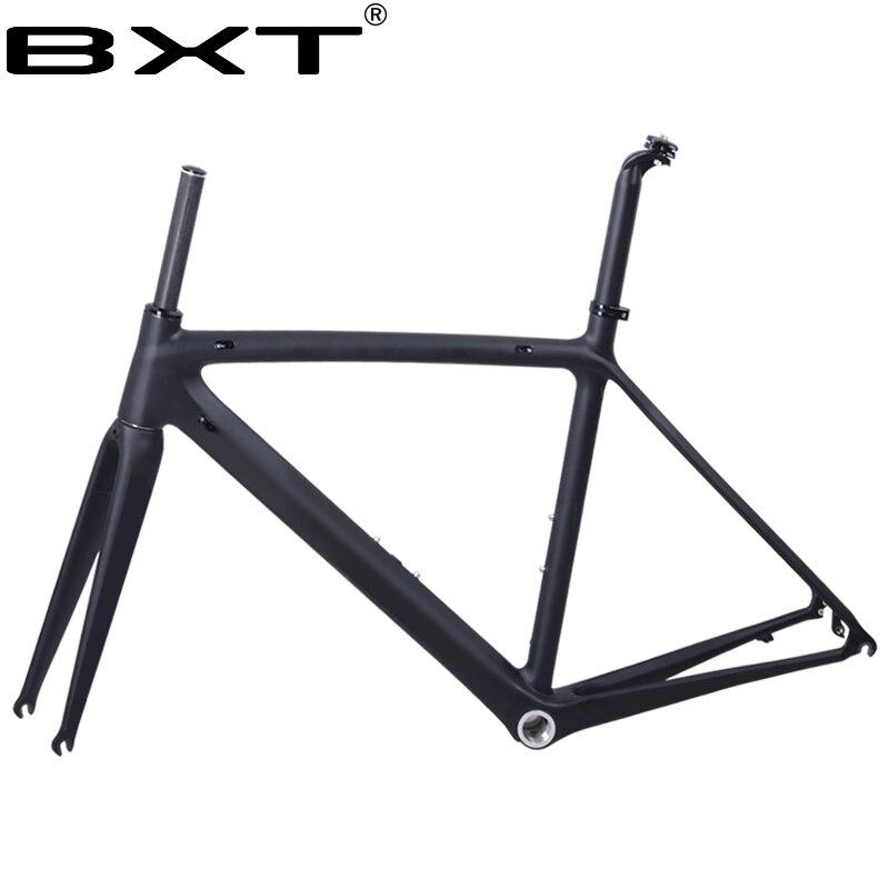2018 nouveau BXT T800 cadre de vélo de route en carbone vélo cadre de vélo super léger 980g Di2/mécanique course carbone cadre de route