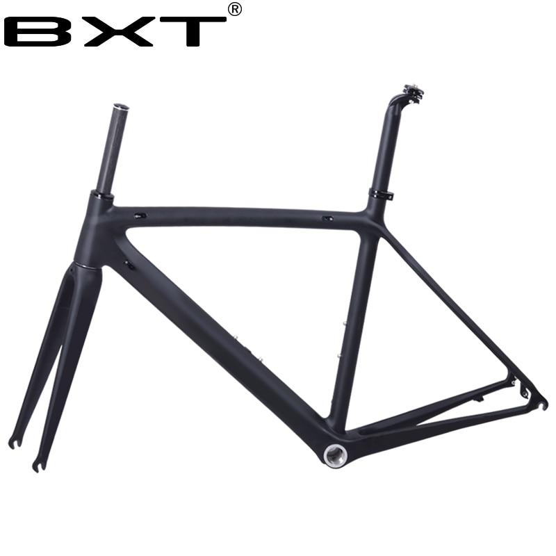 2018 nuovo BXT T800 carbon road bike telaio bicicletta frameset della bicicletta super leggero 980g Di2/mechanical racing carbon telaio da strada