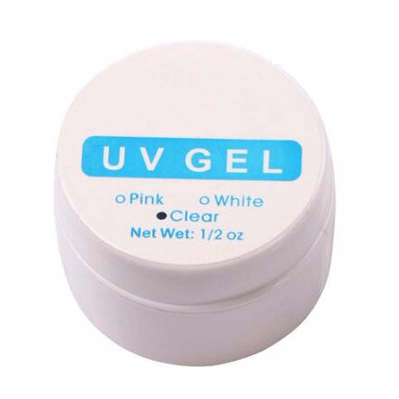 BEAUTY7 Pink White Clear UV Gel Builder Nail Art Tips Gel Nail Manicure Extension Tips Tools UV Nail Gel Polish Nail Stickers 1 roll 10m clear nail double side nail adhesive tape strips tips transparent manicure nail art tool