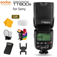 GODOX TT600S GN60 Flash Light Master Slave Speedlite 2.4G Wireless X System + X1T S Transmitter for Sony A7S A7R II A7MII A6000