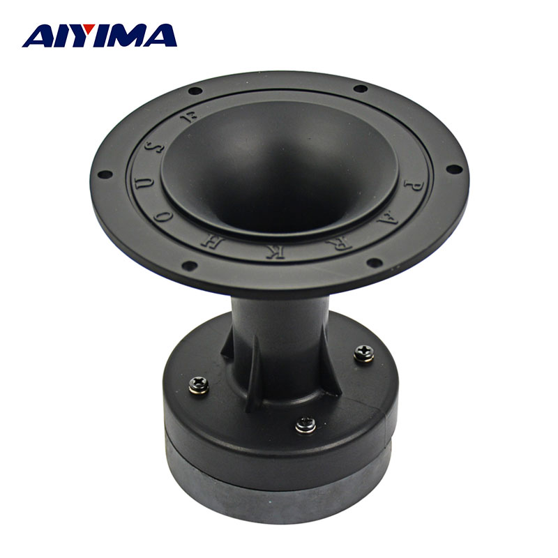 AIYIMA 1Pc 4Inch Audio Portable Speaker 8Ohm 80W 80 Magnet Tweeter Driver Loudspeaker DIY Stage Speaker Horn Treble Home Theater hifi 3000watts powerful home system audio horn driver tweeter full speaker hot sale hi end box audio driver super tweeters